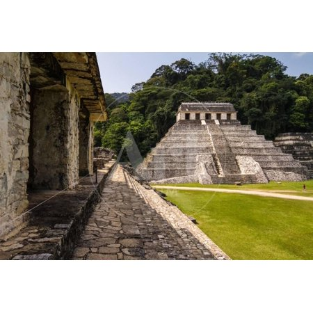 Mayan Ruins in Palenque, Chiapas, Mexico. it is One of the Best Preserved Sites, Which Contains Int Print Wall Art By
