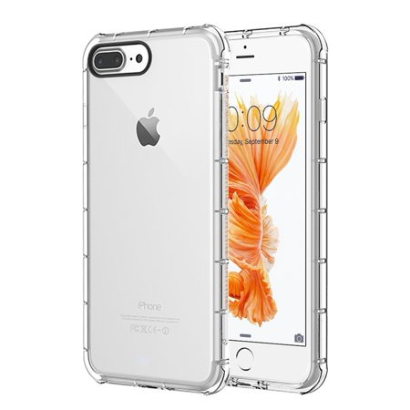 Apple Iphone 7 Plus Duraproof Transparent Anti Shock Tpu Case   Clear