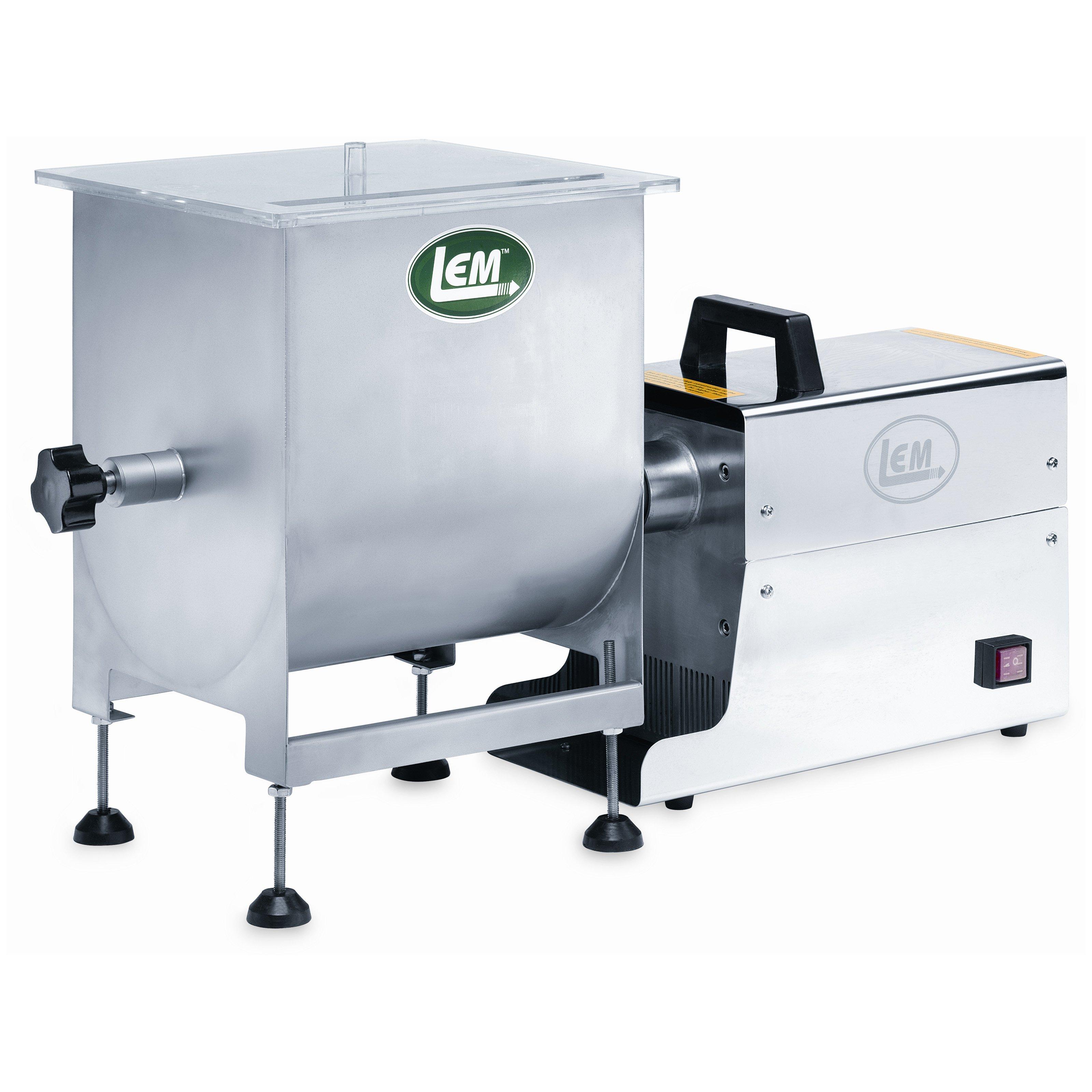 LEM 734A 50 lb. Manual or Motorized Meat Mixer