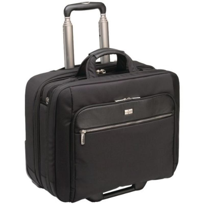 CASE LOGIC CLRS-117BLACK   Security Friendly Notebook Rolling Case by Case Logic