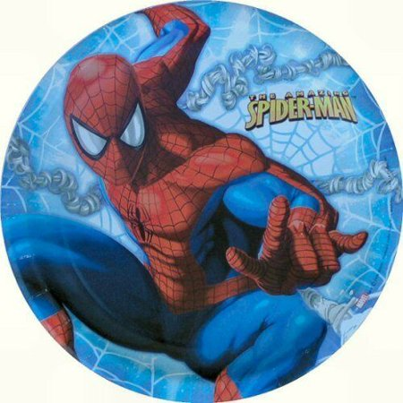 Amazing Spider Man Paper - The Amazing Spider-Man Large Paper Plates (8ct)