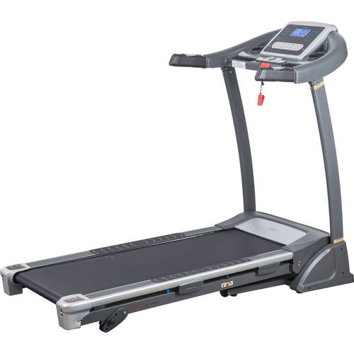 Sunny Health & Fitness SF-T7604 Folding Treadmill w/ Manual Incline and LCD Display