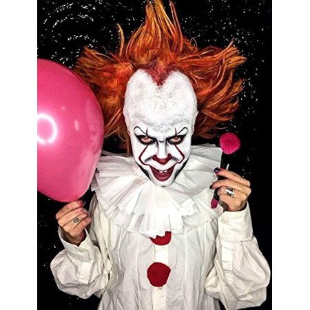 Evil Clown Halloween Makeup Kit – Professional Costume Cosmetics for a Creepy