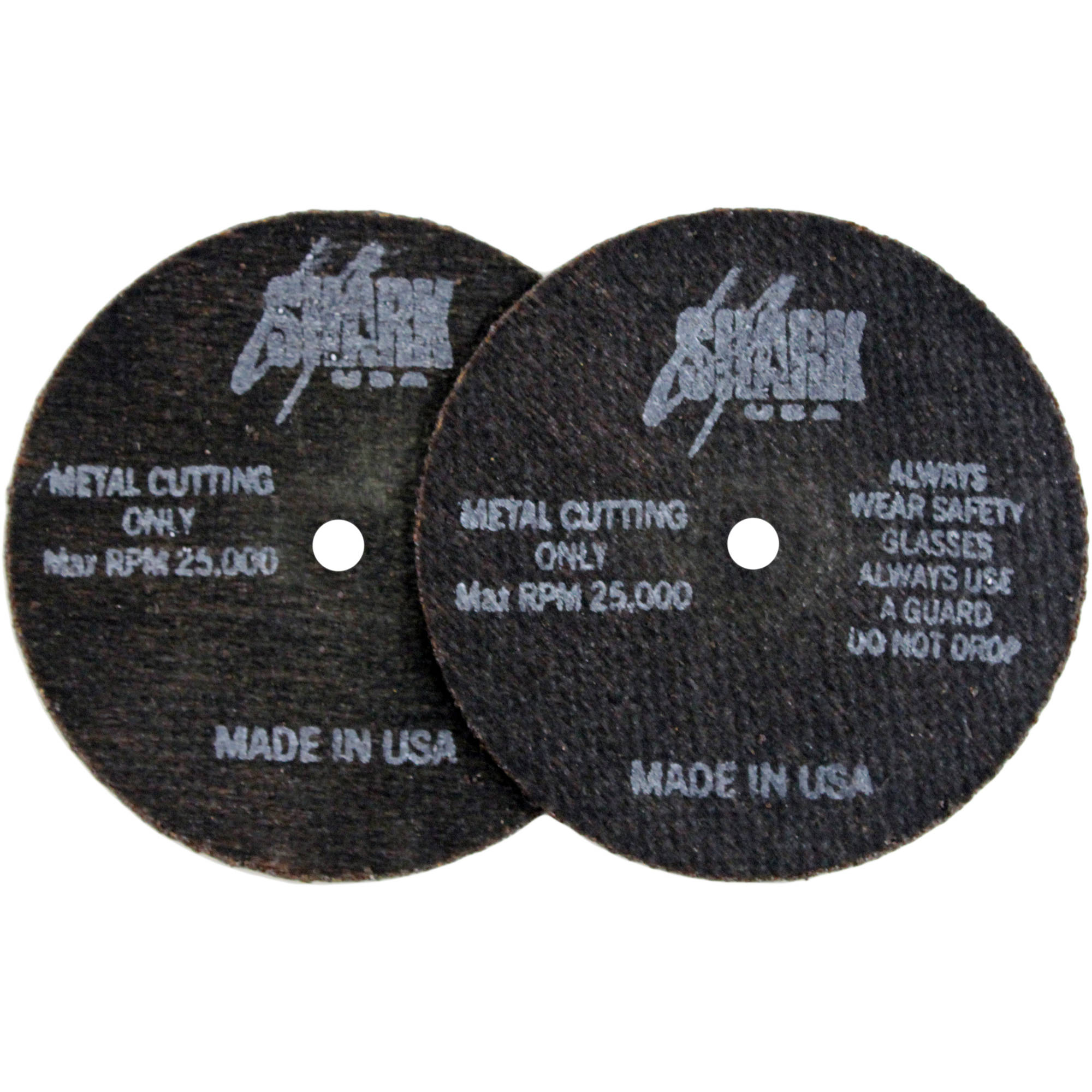 "Shark Cutoff Wheels, 3"" x 1/16"" x 1/4"", 50pk, 54 Grit"