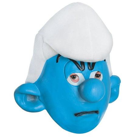 Smurfs Village Update Halloween (Smurfs: The Lost Village Grouchy Smurf Child's Costume Half)