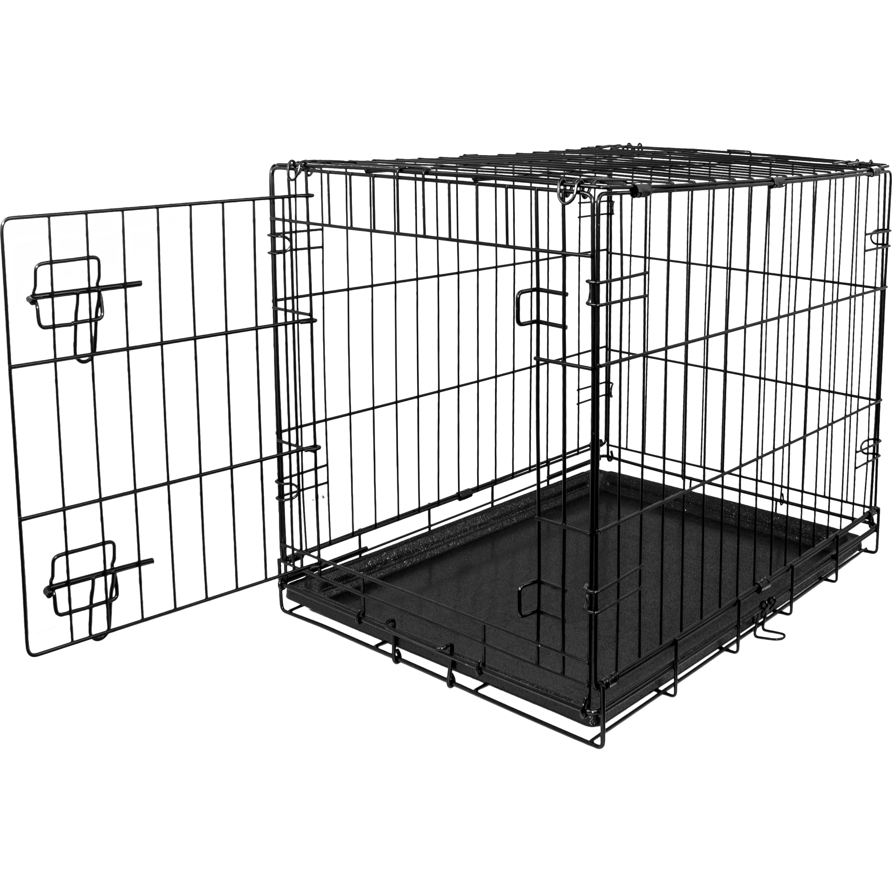 "Blue Beagle Folding Dog Crate, 24"" Small Single Door Kennel by TAIWAN CABLE INDUSTRIAL CO LTD"