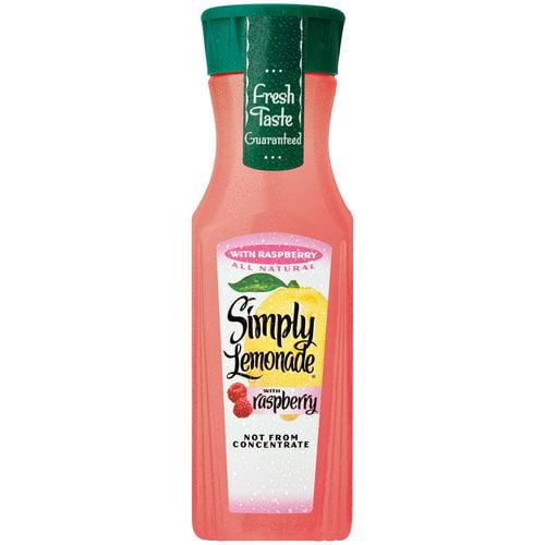 Simply Lemonade Lemonade with Raspberry, 11.5 fl oz