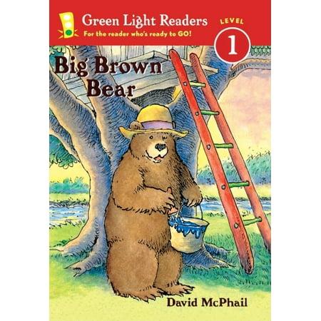 Green Light Readers: Level 1: Big Brown Bear (Hardcover) Big Bear Little Bear