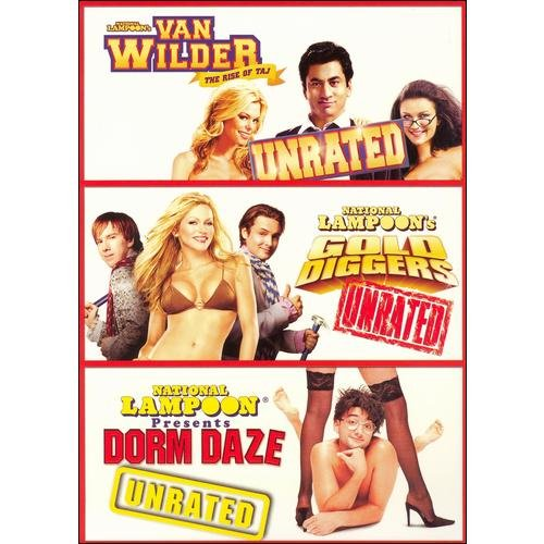 Unrated Box Set (Unrated): Dorm Daze / Van Wilder Deux / Gold Diggers