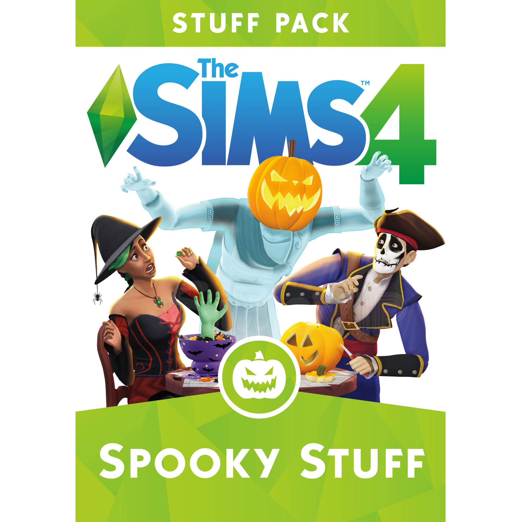 The Sims 4 Spooky Stuff Pack (Digital Code) Electronic Arts