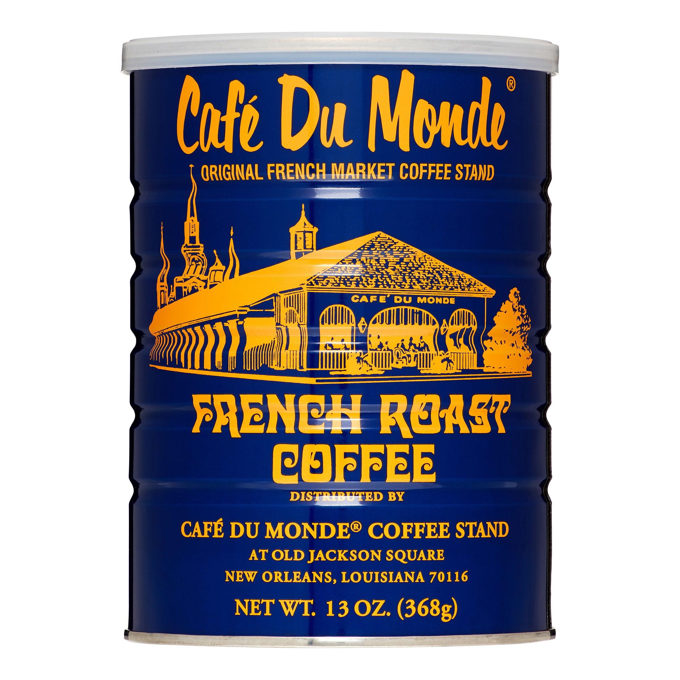 Café du Monde French Roast Ground Coffee, Original, 13 Oz