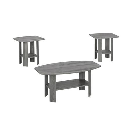 Copper Tabla Set - Monarch Table Set 3Pcs Set / Grey