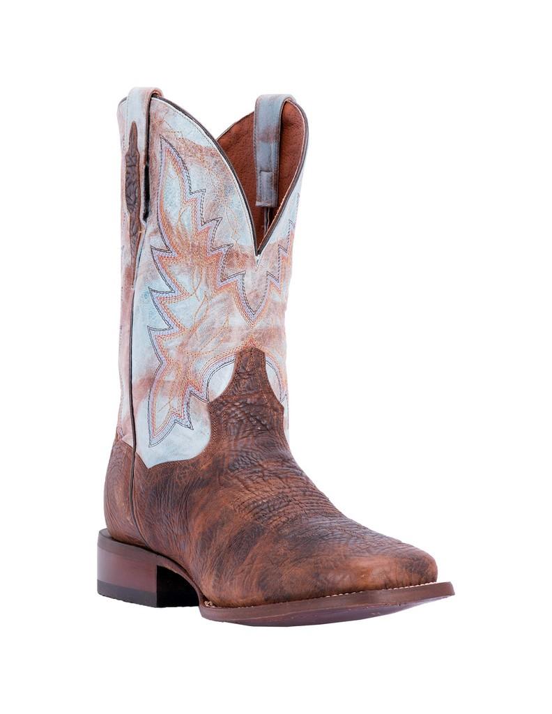 """Dan Post Men's 11"""" Brown Bison Cartwright Cowboy Boot, DP3975 by DAN POST"""
