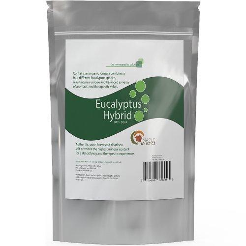 Maple Holistics - Eucalyptis Hybrid Bath Soak - Pure Dead Sea Salt
