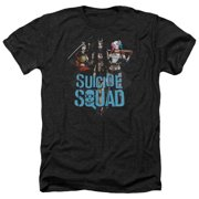 Suicide Squad Lovely Death Mens Heather Shirt