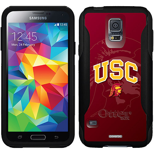 USC Watermark 1 Design on OtterBox Commuter Series Case for Samsung Galaxy S5