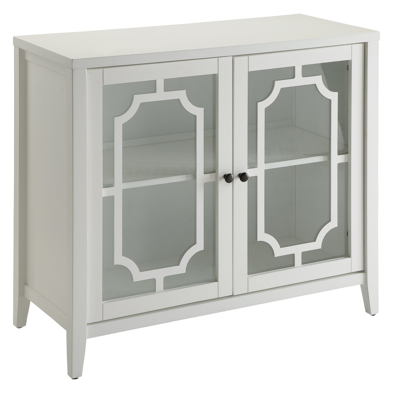 ACME Krisa Console Table, White