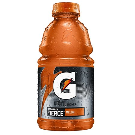 Gatorade Thirst Quencher Sports Drink, Melon, 32 Fl Oz, 1 (Dimensions Of A 32 Oz Gatorade Bottle)