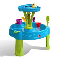 Step2 Summer Showers Splash Tower Water Table With 8 Piece Accessory Set