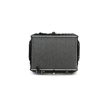 Radiator - Pacific Best Inc For/Fit 2071 95-96 Mitsubishi Montero V6 3.0L Automatic Transmission Plastic Tank Aluminum