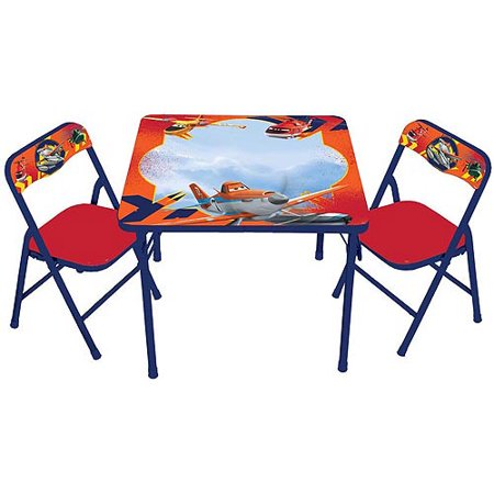 Disney Planes Fire & Rescue Erasable Activity Table Set with 3 Markers