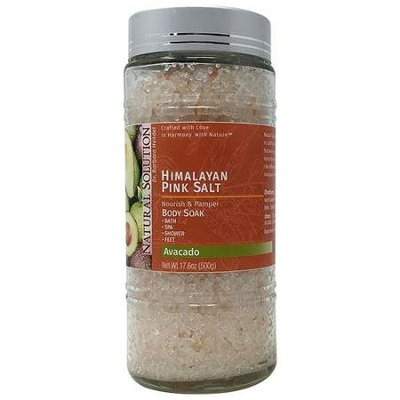 Natural Solutions Natural Solution Himalayan Pink Bath Salt Avocado Body Soak
