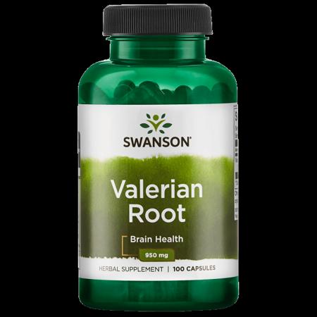 Valerian Root Powder (Swanson Valerian Root 475 mg 100 Caps)