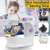 Electric Mini Hand Held Sewing Machine Household Portable Desktop Sewing Machine With LED 16.5x19cm