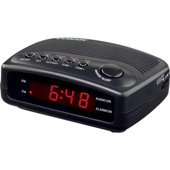 Conair Hospitality WCR02 Desktop Clock Radio - 1 x Alarm