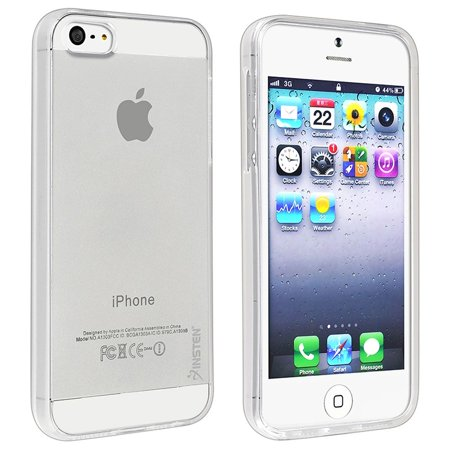 innovative design 2a2eb 93b73 Insten TPU Rubber Skin Case For Apple iPhone SE / 5 / 5s, Clear (iPhone SE  Case Clear Cover)