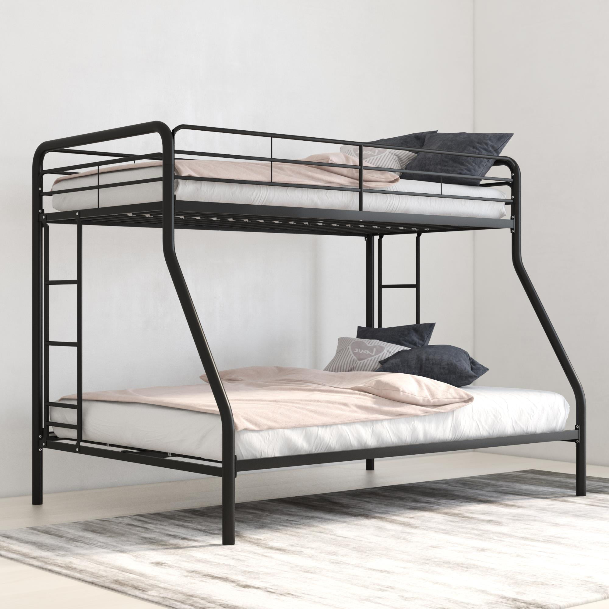 Dhp Twin Over Full Metal Bunk Bed Frame Multiple Colors Walmart Com Walmart Com