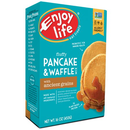 Enjoy Life Foods Gluten Free, Allergy Friendly Pancake + Waffle Mix, 16 oz Box
