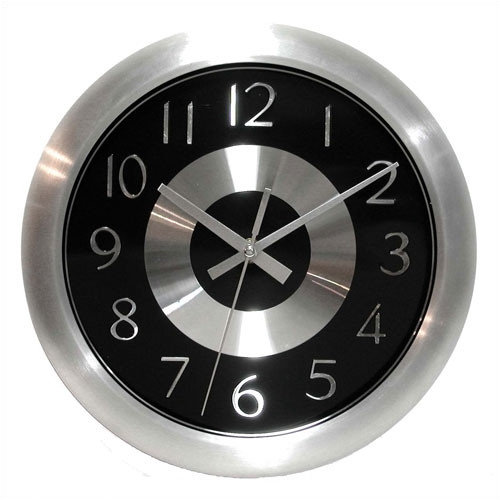 Infinity Instruments 10'' Mercury Wall Clock