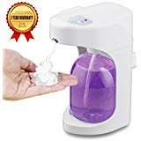 NIGEPER Automatic Soap Dispenser foaming soap dispenser on the Bathroom Kitchen Countertops with Waterproof fu
