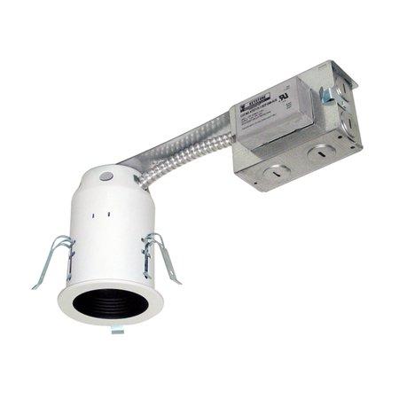 Jesco Lighting LV3001R-E 1 Light Halogen 3 Inch Remodel Recessed Housing