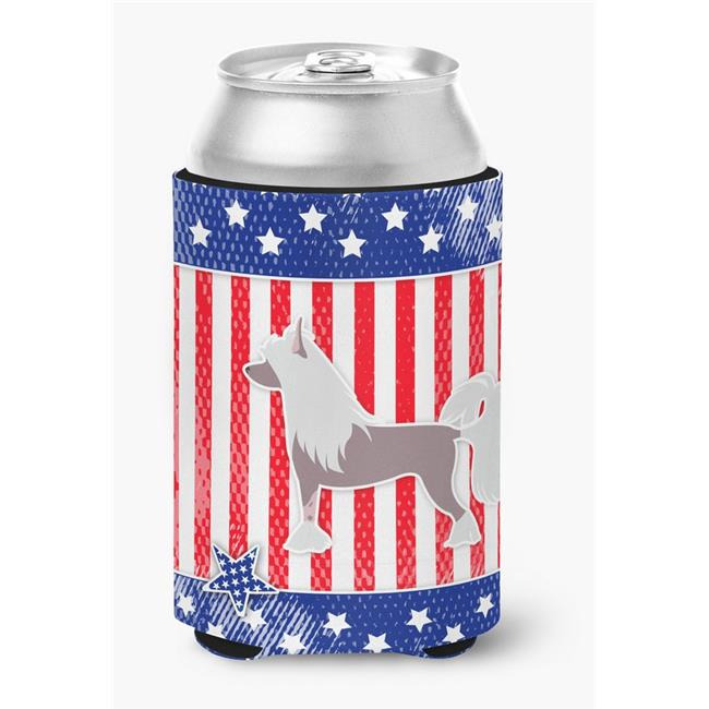 USA Patriotic Chinese Crested Can or Bottle Hugger - image 1 de 1
