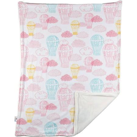 Poppi Living Stroller Blanket, - Blue Stroller Blanket