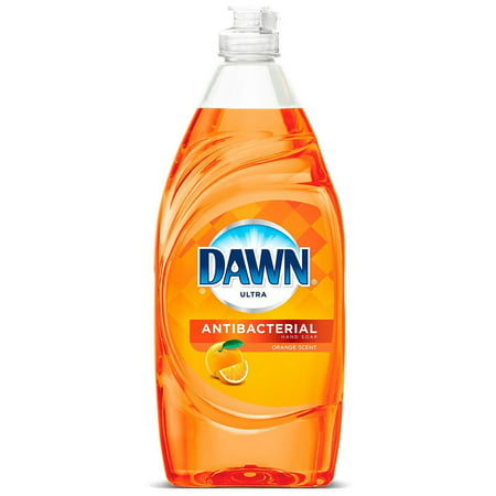 Dawn Ultra Antibacterial Hand Soap, Dishwashing Liquid, Orange 532 ML - image 1 de 1