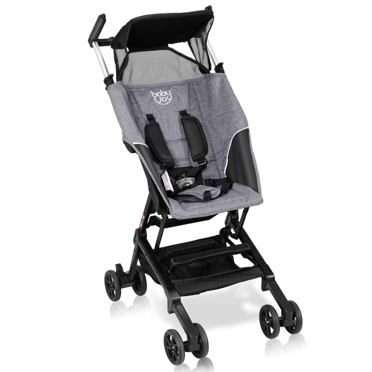 Costway Buggy Portable Pocket Compact Lightweight Stroller Easy Handling Folding Travel by Costway