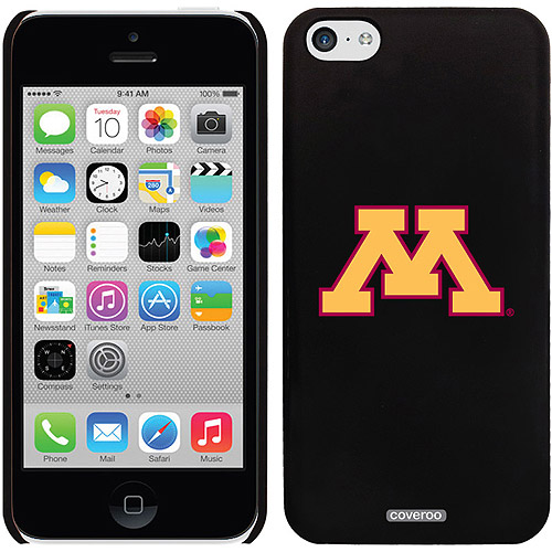 University of Minnesota yellow M Design on iPhone 5c Thinshield Snap-On Case by Coveroo