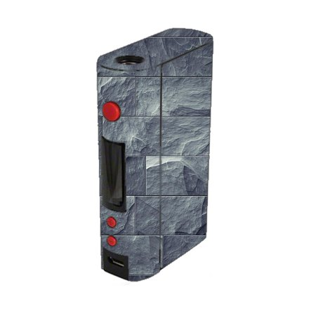 Skin Decal For Kangertech Kbox 200W Kanger Vape Mod / Grey Slate Panel Brick Wall