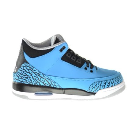 best sneakers a109c 114fd AIR JORDAN 3 RETRO BG (GS)  POWDER BLUE  - 398614-406 - Walmart.com