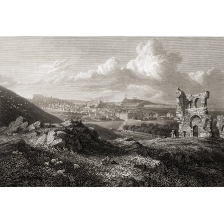 Edinburgh From St Anthonys Chapel From The Original Painting By Lt Col Batty FRS From The Book Select Views Of Some Of The Principal Cities Of Europe  Published London 1832 Engraved By WICooke Rolled](Party City Chapel Hill)