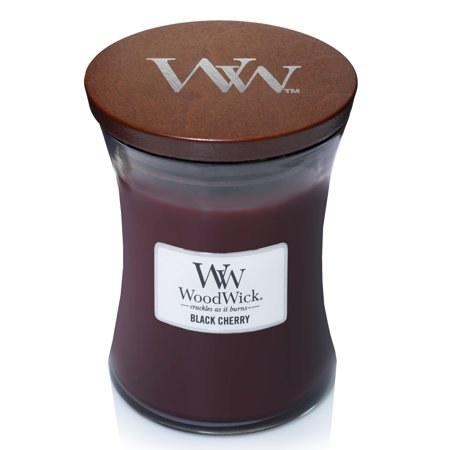WoodWick Black Cherry - Medium Hourglass Candle