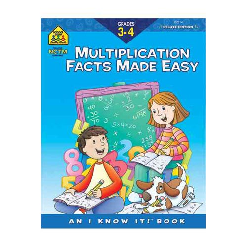 Multiplication Facts Made Easy 3-4