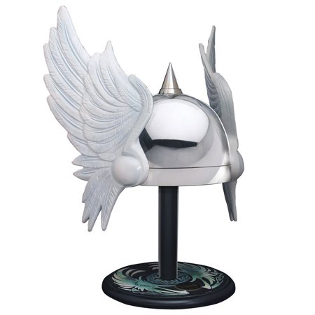 - Classic Thor Winged Helmet 1:1 Prop Replica Life-Size Adjustable Wearable First Appearance Limited Edition Superhero Marvel Comic Book Collectible w/ Display Stand Windlass Museum Replicas