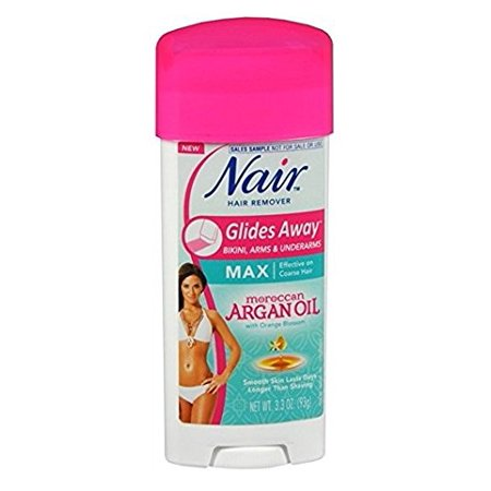 Nair Hair Remover Glides Away Nourish With Argan Oil 3.3 Ounce (97Ml) - image 1 de 2