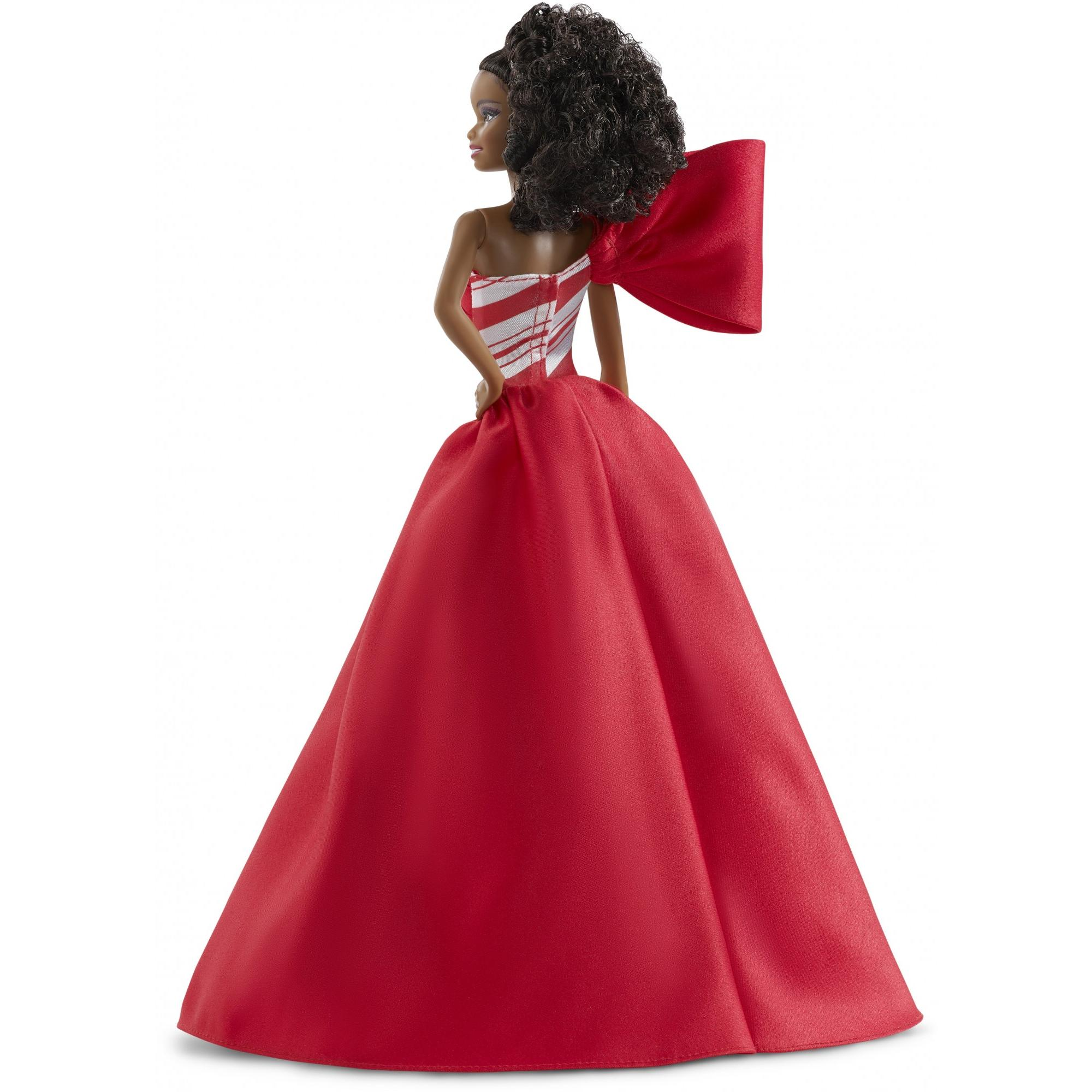 New AFRICAN AMERICAN Doll 2019 HOLIDAY BARBIE In Hand SIGNATURE