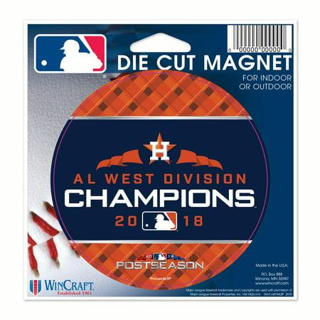 Houston Astros WinCraft 2018 AL West Division Champions 5