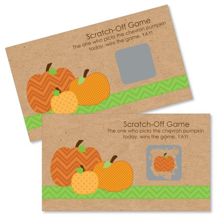 Halloween Fall Festival Game Ideas (Pumpkin Patch - Fall, Halloween & Thanksgiving Party Game Scratch Off Cards - 22)